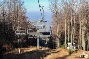 """Górna stacja wyciągu narciarskiego """"Śnieżnica"""""""