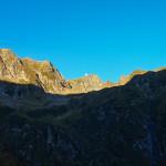 Wschód słońca na głównej grani Fogaraszy