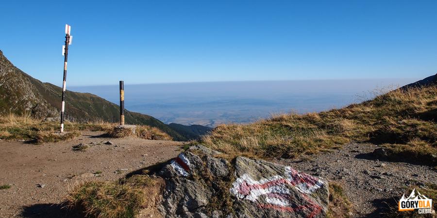 Na przełęczy Fereastra Mare (2188 m)