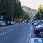 Parking przy ul. Bronisława Czecha (obok Ronda Jana Pawła II) w Zakopanem