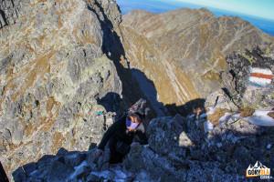 Pod szczytem Pośredniego Granatu