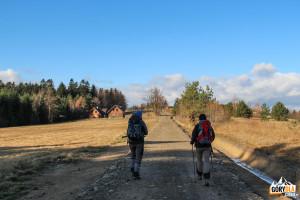 Żółty szlak z Magury Małastowskiej do Uścia Gorlickiego