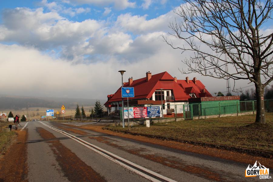 Konieczna - dawne przejście graniczne Polska-Słowacja