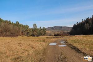Beskid Niski - droga z Radocyny do Nieznajowej