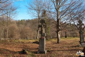 Cmentarz w nieistniejącej wsi Nieznajowa - Beskid Niski