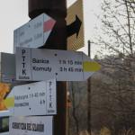 Sieć szlaków w Wołowcu