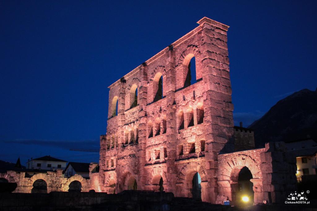 Teatr rzymski wAosta