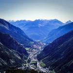 Skyway - widok na dolinę