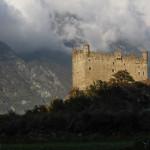 Zamek w Ussel