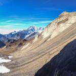 Mont Blanc z Col Malatra