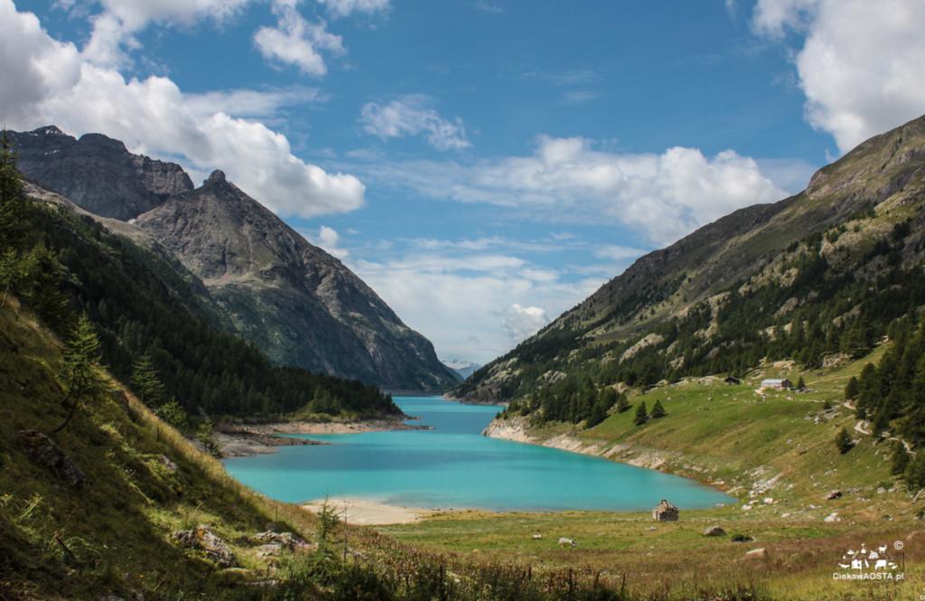 Jezioro Prarayer wsierpniu