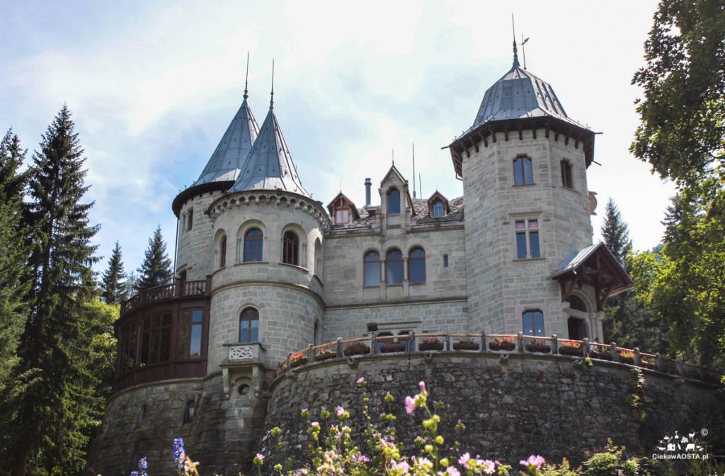Zamek Savoia w Gressoney