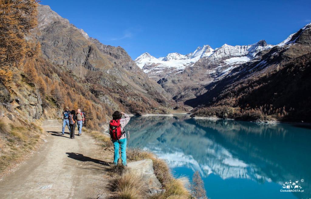 Jezioro Prarayer wlistopadzie