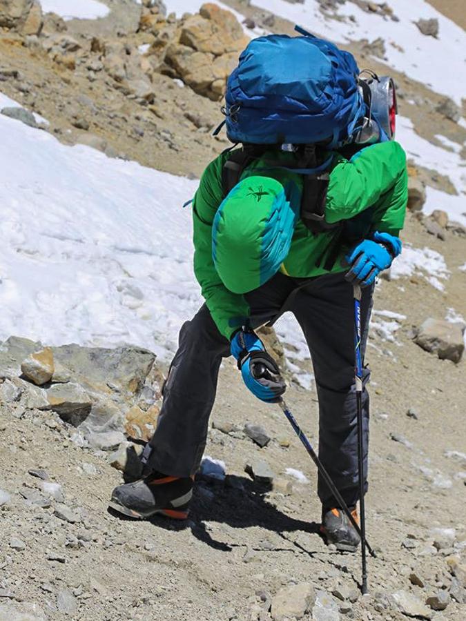 W drodze doostatniej bazy (5900 m)