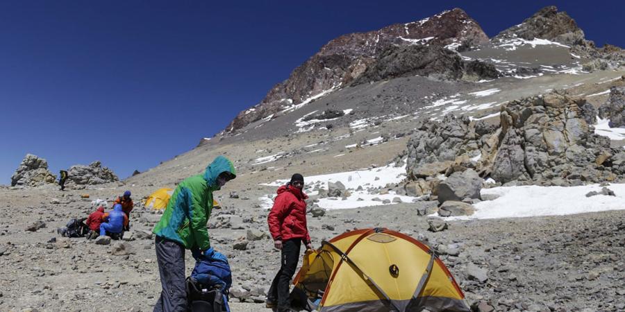 Nasza ostatnia baza przed szczytem - Colera 6000 m