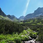 Mała Wysoka widziana z Doliny Litworowej