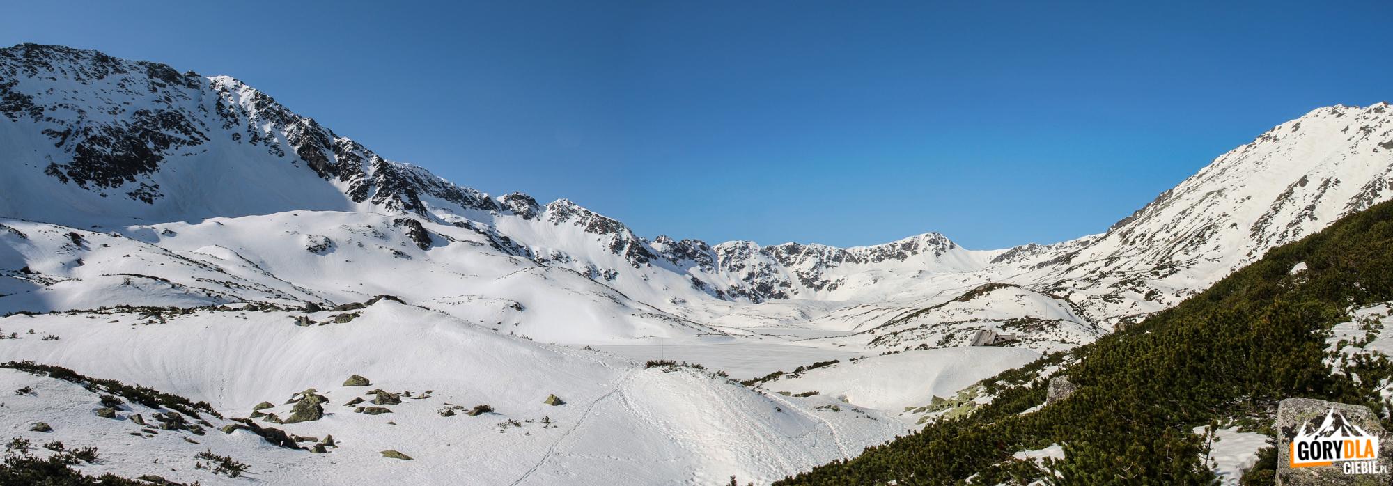 Dolina 5 Stawów Polskich widziana z pod Niżniej Kopy