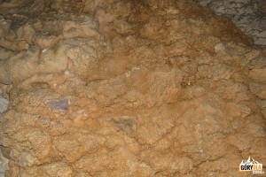 Szata naciekowa w Jaskini Mylnej