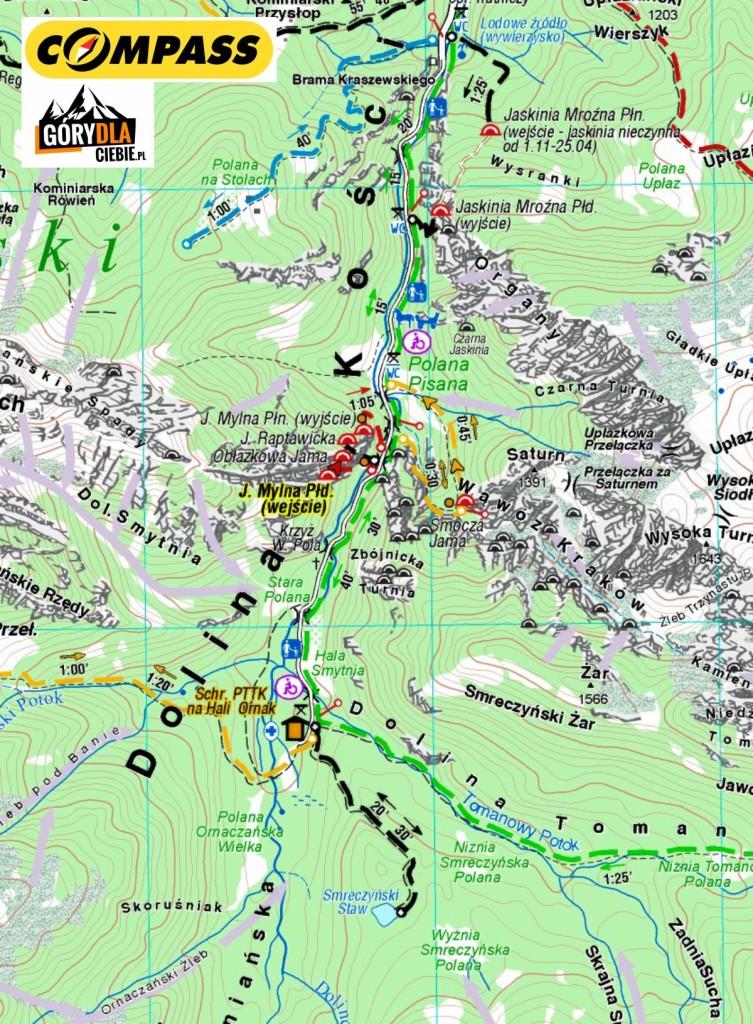 Dolina Kościeiska cz. 2 - Compass