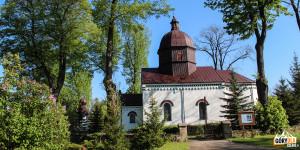 Myscowa - cerkiew greckokatolicka pw św. Paraskewy z 1796 r., obecnie jest to rzymskokatolicki kościół filialny pw NMP Matki Kościoła