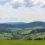 """Panorama ze szczytu """"Polana"""""""