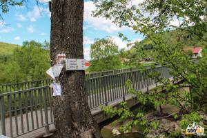 Mostek na rzece Jasiołka w Nowej Wsi