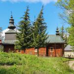 Dawna cerkiew Narodzenia Bogurodzicy, obecnie kościół Narodzenia Najświętszej Maryi Panny (1855 r.).