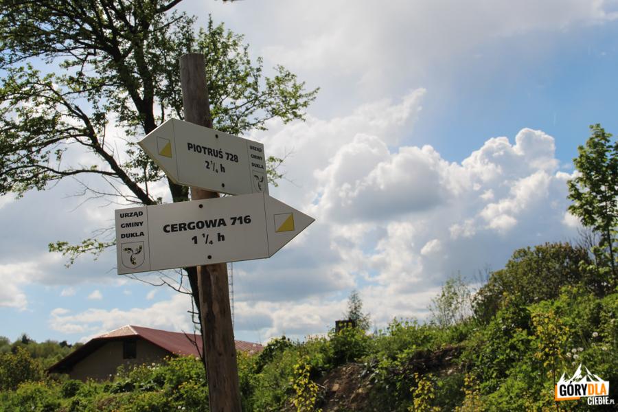 Szlaki turystyczne w Zawadce Rymanowskiej