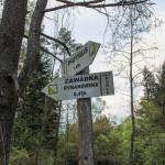 Szlaki turystyczne przy Białym Potoku