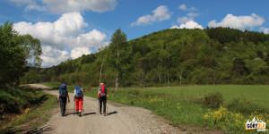 Żółty szlak z Tylawy do Olchowca