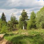 Kapliczka przed Olchowcem
