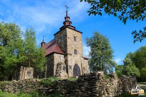 Kościół w Hucie Polańskiej