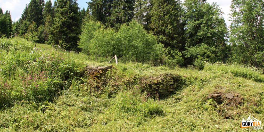Miejsce gdzie stał dwór Stroińskich