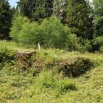 Miejsce, gdzie stał dwór Stroińskich