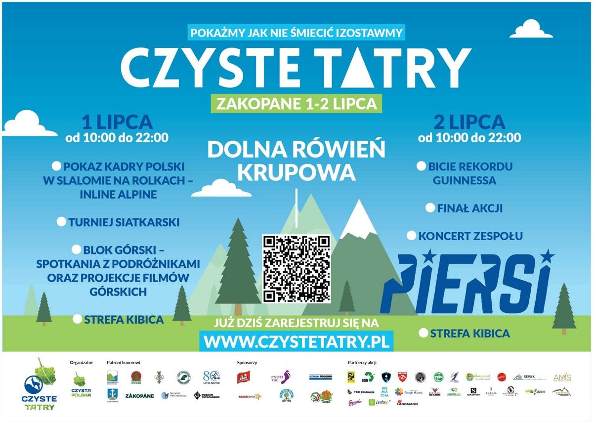 Czyste Tatry 2016 plakat 22