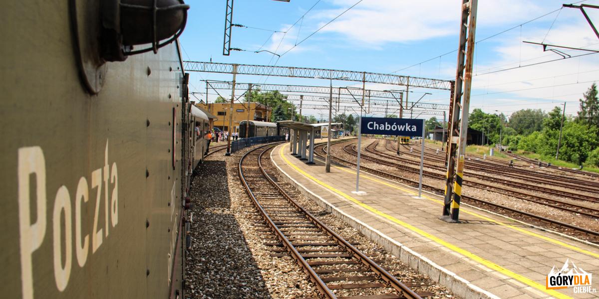 Na trasie przejazdu pociągu retro