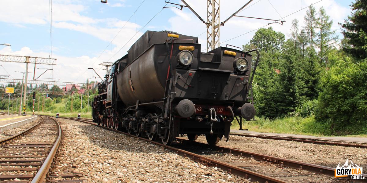 Retro lokomotywa