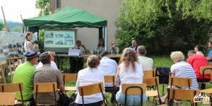 Panel dyskusyjny na Galicyjskim Pikniku Kolejowym w Dobrej