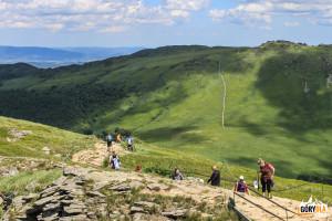 Pod szczytem Tarnicy (1346 m). Fot. Ewelina Zofińska