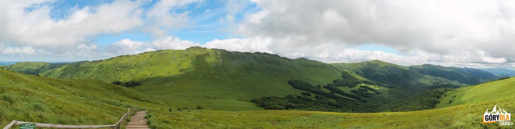 Zejście naPrzełęcz GOPRowską (1160 m)