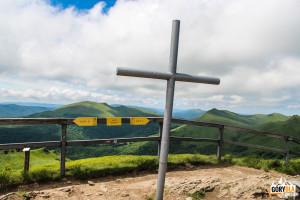 Na szczycie Halicza (1333 m)