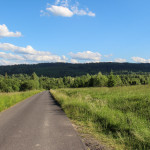 Jeszcze asfaltowa droga do Bukowca