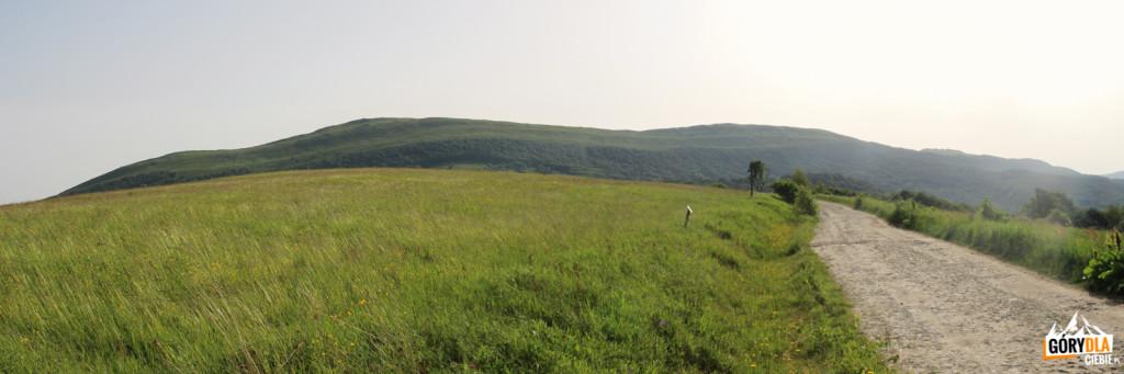 Widok z drogi do Bacówki Pod Małą Rawką