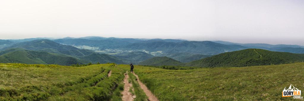 Niebieski szlak z Wielkiej Rawki na Krzemieniec (Kremenaros)