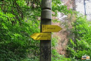 Szlak na Smerek (1222 m)