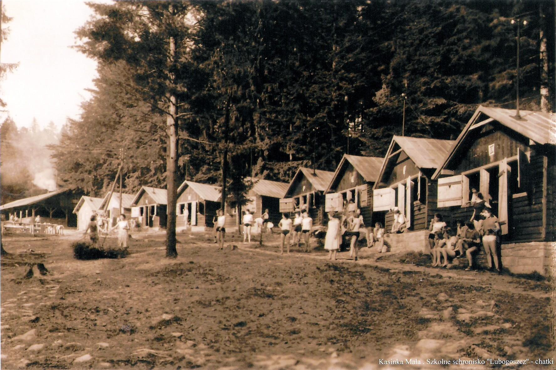 Baza Lubogoszcz - 1953 r.