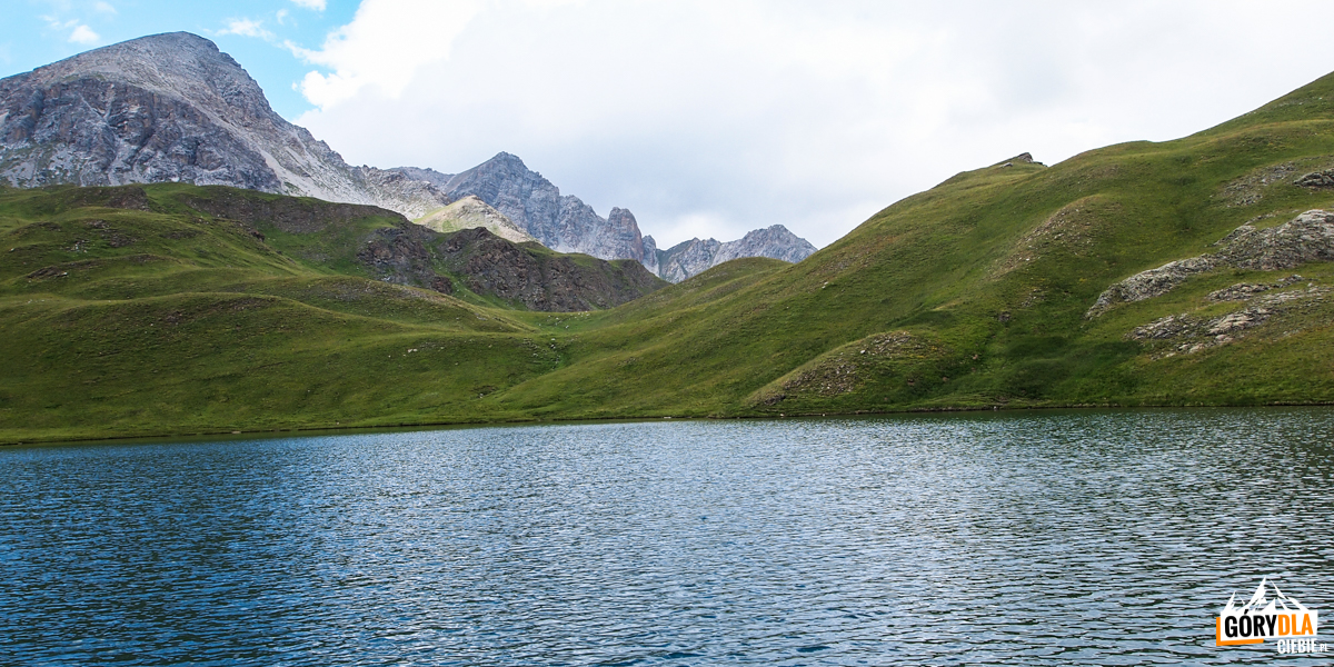 Jezioro Lac des Cordes (2448 m)