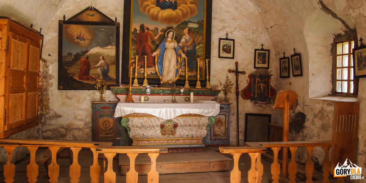 Kapliczka w Fonts de Cervières