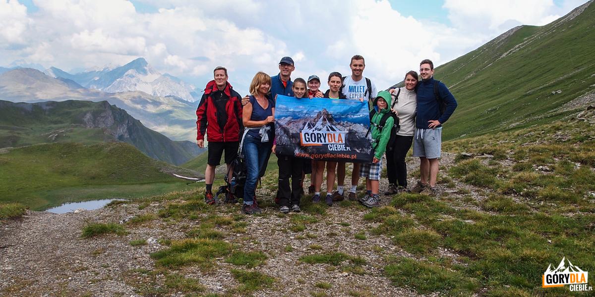 Przełęcz Marsailles (2601m).