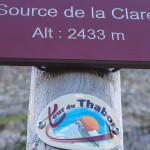 Źródło jeziora Clarée